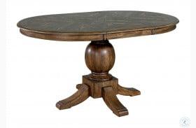 August Light Oak Extendable Dining Table