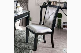 Alena Black and Side Chair Set Of 2