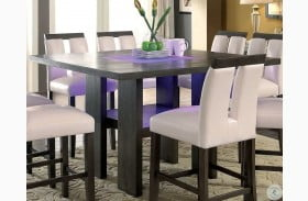 Luminar II Gray Counter Height Dining Table