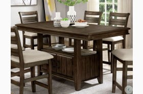 Rigby II Light Walnut Counter Height Dining Table
