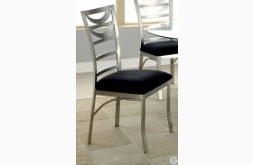 Roxo Microfiber Side Chair Set of 2