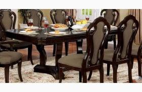 Rosalina Walnut Extendable Dining Table