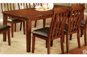 Foxville Cherry Rectangular Extendable Leg Dining Table