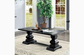 Mirabel Antique Black Coffee Table