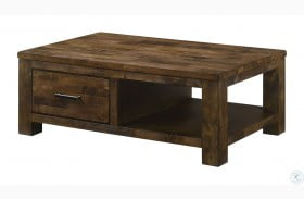 Spring Antique Oak Coffee Table