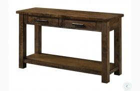 Spring Antique Oak Sofa Table