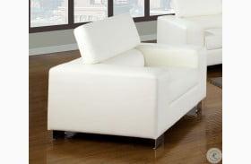 Makri White Chair