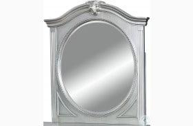 Claudia Silver Gray Mirror