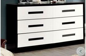 Rutger White and Black Dresser