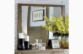 Garland Light Oak Mirror