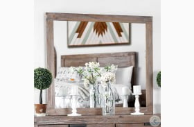 Wynton Weathered Light Oak Mirror