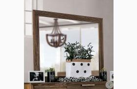 Tolna Walnut Beveled Mirror