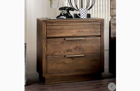 Tolna Walnut Nightstand