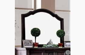 Amadora Walnut Mirror