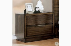 Tolna Walnut Drawers Nightstand