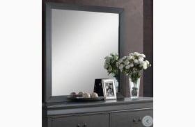 Louis Philippe III Gray Mirror