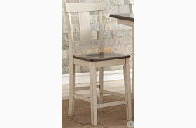 Heather Two Tone Counter Chair Set of 2
