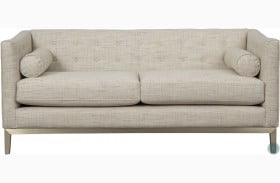 City Chic Contemporary Button Tufted Milan Loveseat