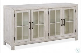 Bronwyn Chalk White Buffet Curio