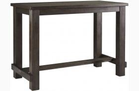 Drewing Brown Rectangular Bar Table