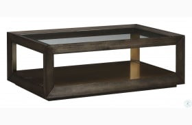 Woodwright Brown Balch Cocktail Table