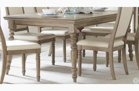 Grayling Driftwood Gray Extendable Dining Table