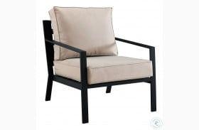 Soft Beige Outdoor Chair