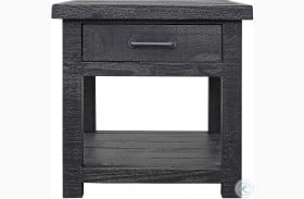 Durango Rustic Dark Pine End Table