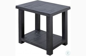 Durango Rustic Dark Pine Chairside End Table