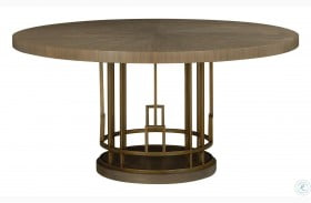 Woodwright Champagne Meyer Dining Table