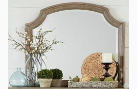 Grayling Driftwood Gray Mirror
