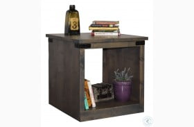 Farmhouse Barnwood End Table