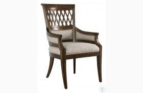 Kingsport Medium Oak Arm Chair Set Of 2