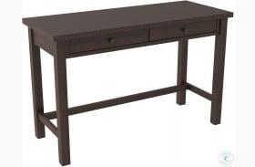 "Camiburg Warm Brown 47"" Trestle Home Office Desk"