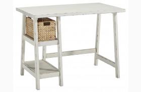 Mirimyn Antique White Finish Home Office Small Desk