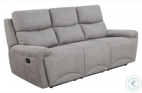 Windwood Gray Fabric Sofa