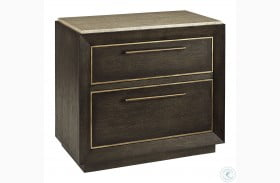 Woodwright Brown Wright Nightstand