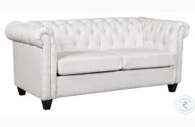 320-C147 Mist Gray Tufted Chesterfield Sofa