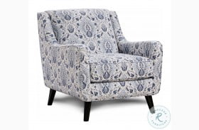 Tampa Ice Blue Accent Chair