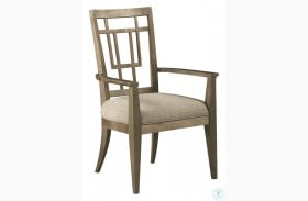 Woodwright Champagne Rohe Arm Chair Set Of 2