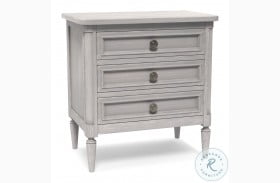 Artiste Chippy Gray Charlotte Medium Nightstand
