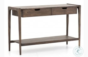 Harmon Valeria Aged Brown Console Table