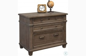 Carson Weathered Dove Lateral File Cabinet
