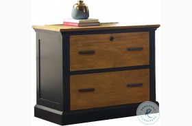 Toulouse Aged Ebony Lateral File Cabinet