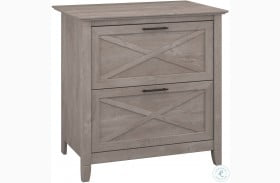 Key West Washed Gray Lateral File