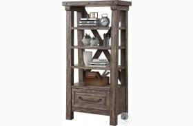 Lodge Siltstone Bookcase