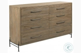 Modern Forge Light Stain Amity Drawer Dresser