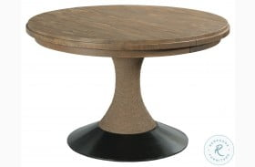 Modern Forge Light Stain Lindale Round Dining Table