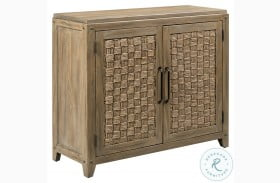 Modern Forge Light Stain Leona Accent Chest