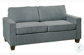 Cityscape Grey Casual Modern Upholstered Sofa